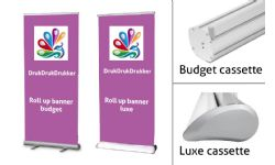 Roll-Up banners - budget of luxe